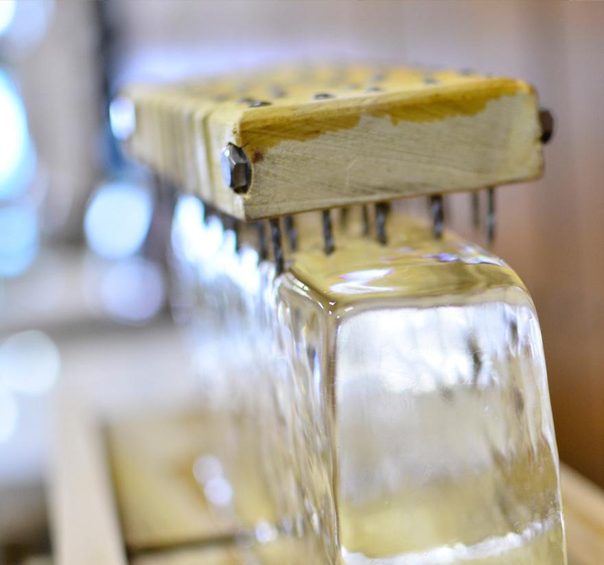 歯ごたえ、味わい、氷の醍醐味を存分に味わえるのは「手がき」だから。